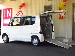 ホンダ N-BOX+ 660 G 車いす仕様車 4WD 電動ウインチ車いす固定装置リアシート付き