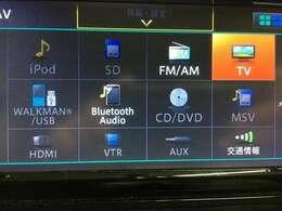 【純正ナビ】(MP314D-W) (CD/DVD/フルセグTV/Bluetooth/USB/ミュージックサーバー)