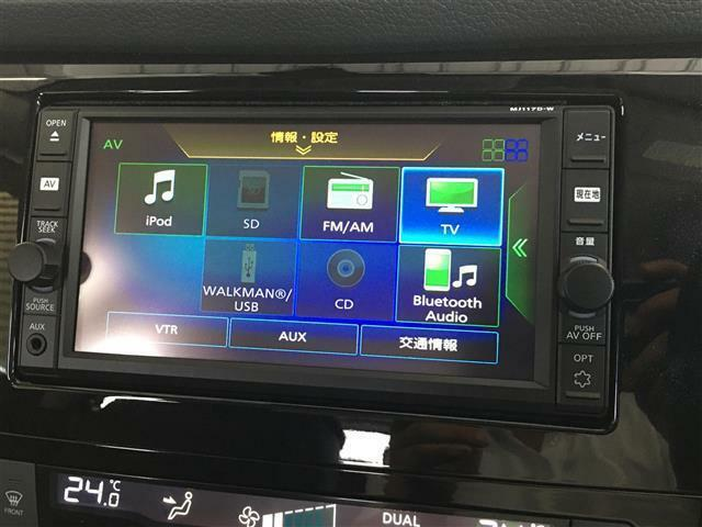 ★純正メモリナビ(MJ117D-W)フルセグ/CD/Bluetooth/AUX★
