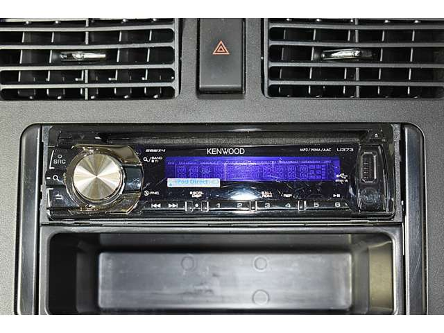 CD・USBレシーバー(KENWOOD製U373)装着