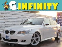 BMW 5シリーズ 540i Mスポーツパッケージ /ビルDサス/黒本革/純ナビ/外19AW/ETC