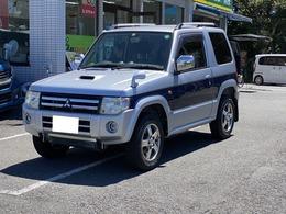 三菱 パジェロミニ 660 エクシード 4WD 5MT ナビ ETC フルセグTV Bluetooth