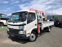 日野自動車 デュトロ ロング ユニック3段クレーン 2t積載