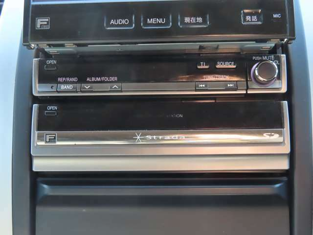 地デジ・DVD・SDと一通りそろったナビですが、最新機種への交換もお気軽にご相談下さい!