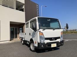 日産 アトラス 2.0 ダブルキャブ スーパーロー Wタイヤ6人乗り最大積載量1250キロ