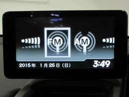 センターディスプレイ。純正アプリ「internavi POCKET」をつなげば、ナビ画面をディスプレイに表示可能。リアカメラ、Gメーター表示機能、Bluetooth対応、HDMIジャック対応です