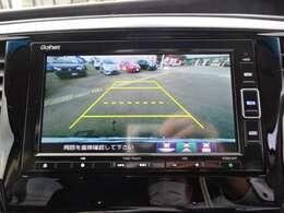バックカメラが付いてるので駐車の苦手な方でも安心ですね!