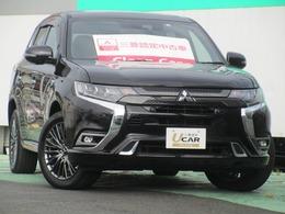 三菱 アウトランダーPHEV 2.4 S エディション 4WD SDナビ地デジTVサンルーフ本革シート