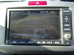 バックカメラ付きなので駐車が苦手な方でも安心ですね!