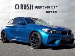 BMW M2クーペ M DCT ドライブロジック 黒革 アダプティブLED ナビ PDC