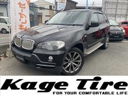 BMW X5 3.0si 4WD 黒革 Pシート 純正19inAW 新品タイヤ
