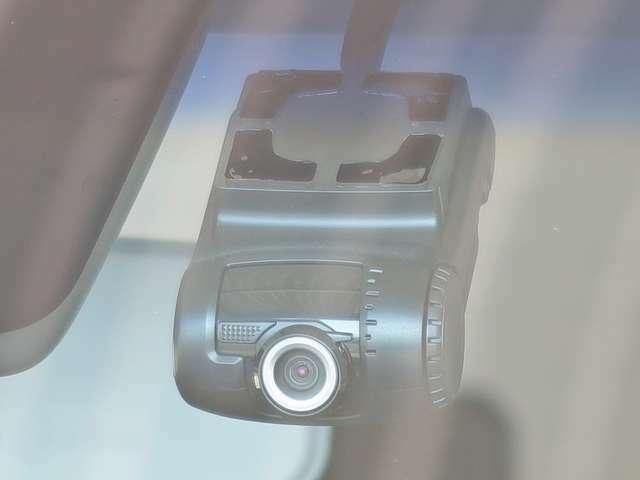 ドライブレコーダーが付いているので、あなたの安全運転をしっかり記録します。もしもの時のトラブル回避などに役立ちます。現在の必需品ですね!