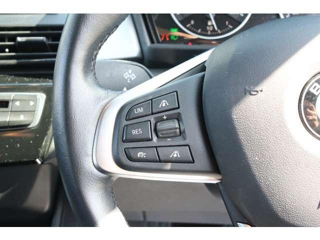 オプションのストップ&ゴー機能付きクルーズコントロール装備!高速走行や渋滞時も運転負荷を軽減します!