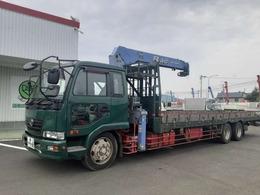 UDトラックス コンドル 増t2デフ クレーン車 4段ラジコン ワイド 積載9.2t 荷台内寸L849W235H28