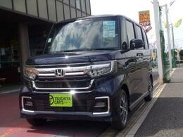 ホンダ N-BOX カスタム 660 L 届出済未使用車 左AドアLED