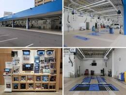 大型の指定工場を保有しており、車検から日常点検まで安心してお任せいただける環境を整えております。ナビ・ドライブレコーダー等各種部品の取り付けも承っており、デモ機で使用感を確認いただく事も可能です。