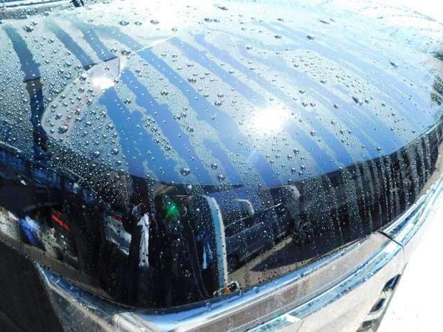 Bプラン画像:愛車の塗装を守り、お手入れの負担を減らすガラス系ボディコーティング