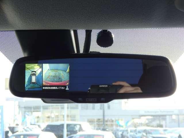 アラウンドビューカメラが付いているので狭い場所でも安心して駐車できます(^^)/