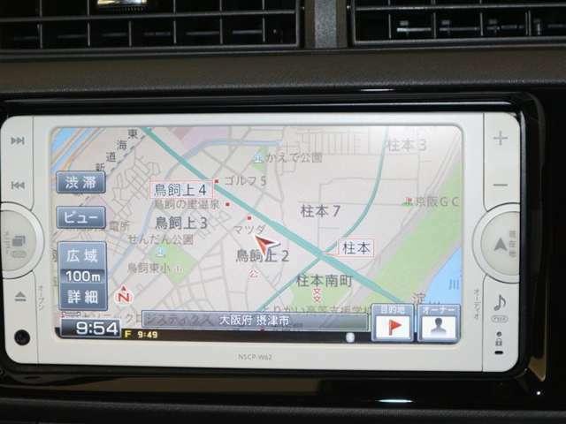 トヨタ純正SDナビ搭載。HDDナビ搭載 地デジチュ-ナ-付ワンセグでTV見れます。