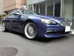 BMWアルピナ B6グランクーペ ビターボ アルラット 4WD ACC サンルーフ 白革  harman/kardon