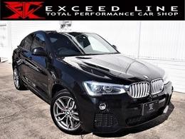 BMW X4 xドライブ28i Mスポーツ 4WD 買取車/HDDナビ/インテリS/Pリアゲート
