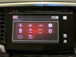 ナビゲーション機能は勿論、好きな音楽も良い音で、快適ドライブ。