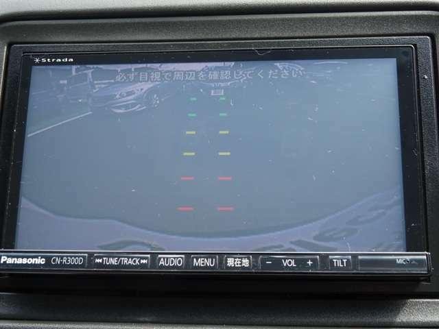 リアカメラ搭載で、後方視界が確保できます。夜間や狭い駐車場で便利です。