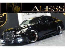 トヨタ クラウンアスリート ハイブリッド 2.5 S 黒革サンルーフ RSR車高調 シャレン20