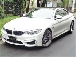 BMW M4クーペ M DCT ドライブロジック フルレザーメリノインテリア 黒革シート