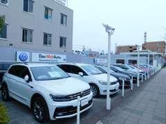 メイン展示場写真!毎週洗車をし品質をきれいに保ってます!