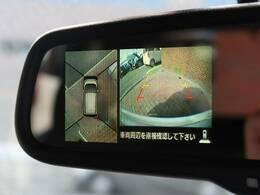 ☆アラウンドビューモニター☆上空から見下ろしているかのような映像をディスプレイに映し出し、スムースな駐車をサポートします☆