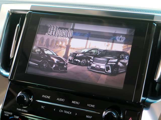 Aプラン画像:TVキャンセル付☆走行中のTV視聴やナビの操作も可能になります!!