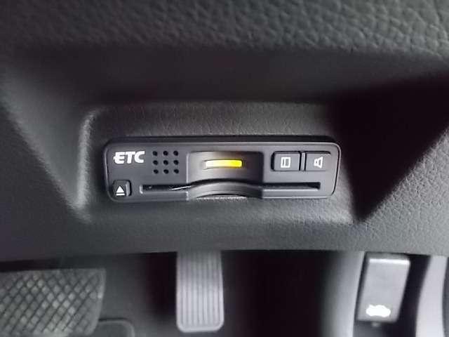 ETCが装備されていますので高速道路もキャッシュレスで通過が可能です。