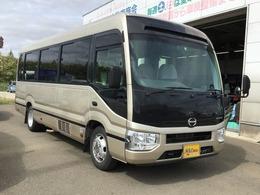 日野自動車 リエッセII マイクロバス 29人乗 EX 寒冷地仕様 IC-TB オートステップ 後席ディスプレイ