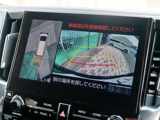 パノラミックビューモニター機能搭載☆彡シースルービューカメラも搭載で全方位を漏れなく確認できます!!