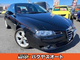 アルファ ロメオ アルファ156 TI 2.0JTS セレスピード リネアロッサ 300台限定車 ETC MTモード