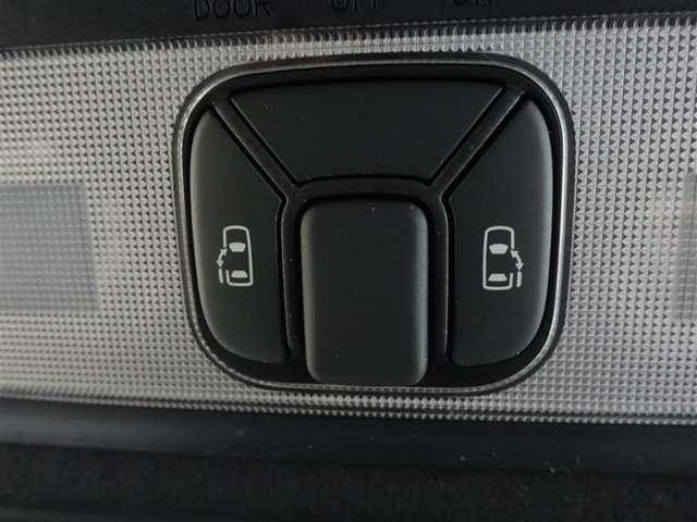 両側電動スライドドアで狭いスペースでも乗降り楽々!お子様に安全な挟み込み防止機能付!
