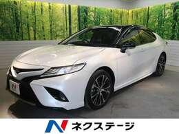 トヨタ カムリ 2.5 WS レザーパッケージ 1オーナー 禁煙車 BSM ツートーンルーフ
