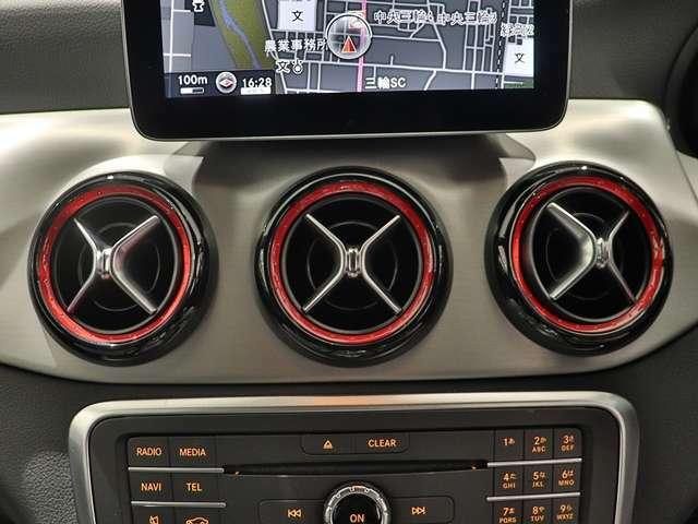 【エアコン吹き出し口にも赤のアクセント♪】レッドの差し色が車内の雰囲気を一気にスポーツモードに押し上げます!
