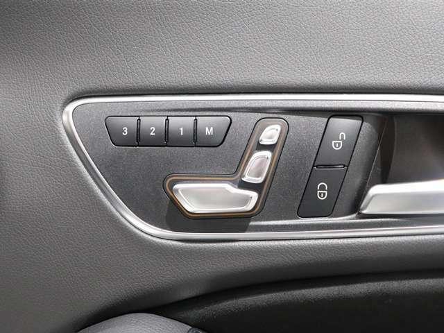 【シートメモリー&シートヒーター】自分にぴったりのシートポジションをしっかり車に記憶。そして寒い時には、エアコンよりも先にシートが身体を温めてくれます!
