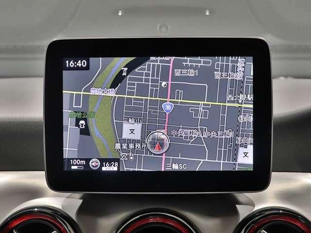 【8インチのワイドディスプレイ】運転に必要な情報を表示する大きなディスプレイは8インチ!