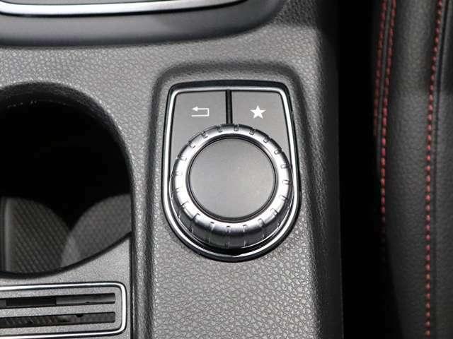 【コマンドシステム】運転席横のコマンドコントローラーで簡単操作♪