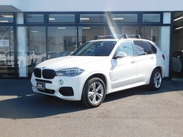 BMW X5 xドライブ 35d Mスポーツ 4WD 弊社下取車黒革S/RLEDライトACC19AW