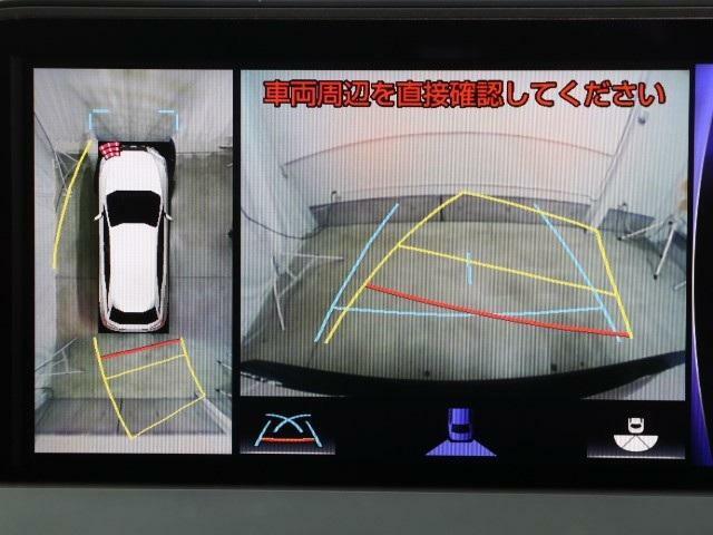 一度使うと手放せない!バックカメラ&パノラミックビューモニター。安全運転に貢献できる非常に重要な装備ですよね。