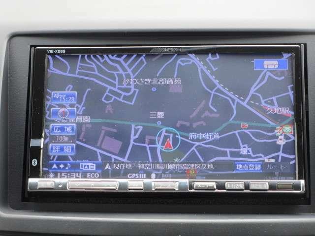 アルパイン社製HDDナビ&バックカメラ Bluetooth DVD再生機能付き!!
