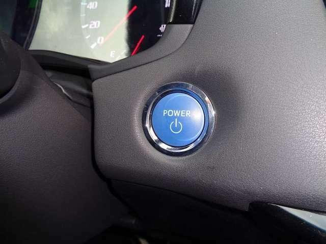 プッシュスタート装着車です。ワンタッチでエンジンスタート、キーの出し入れも不要です!