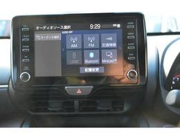 8型ディスプレイオーディオ、AM/FMチューナー、Bluetooth対応、USB入力、Miracast対応、SmartDeviceLink、AppleCarPlay、AndroidAuto対応♪