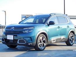 シトロエン C5エアクロスSUV シャイン ナッパレザーパッケージ ディーゼルターボ 新車保証継承 サンルーフ 純正ナビ ETC