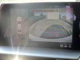 見下ろし型のパノラミックビューカメラを装備して車庫入れが楽々です!