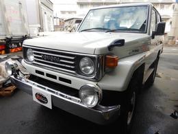 トヨタ ランドクルーザー70 LX改 4WD 3.4LガソリンV6エンジン換装 4インチリフトアップ公認